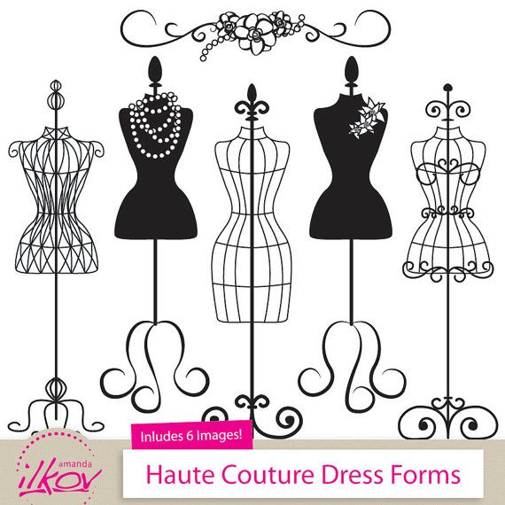 Gown clipart manikin Ideas Invitations Professional on Dress