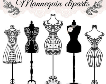 Gown clipart manikin Dress Premium mannequin Etsy fashion