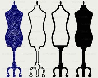 Gown clipart manikin Mannequin Tailors clipart Etsy mannequin