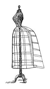 Gown clipart old fashioned Thimbles Dress (2 Form Clip