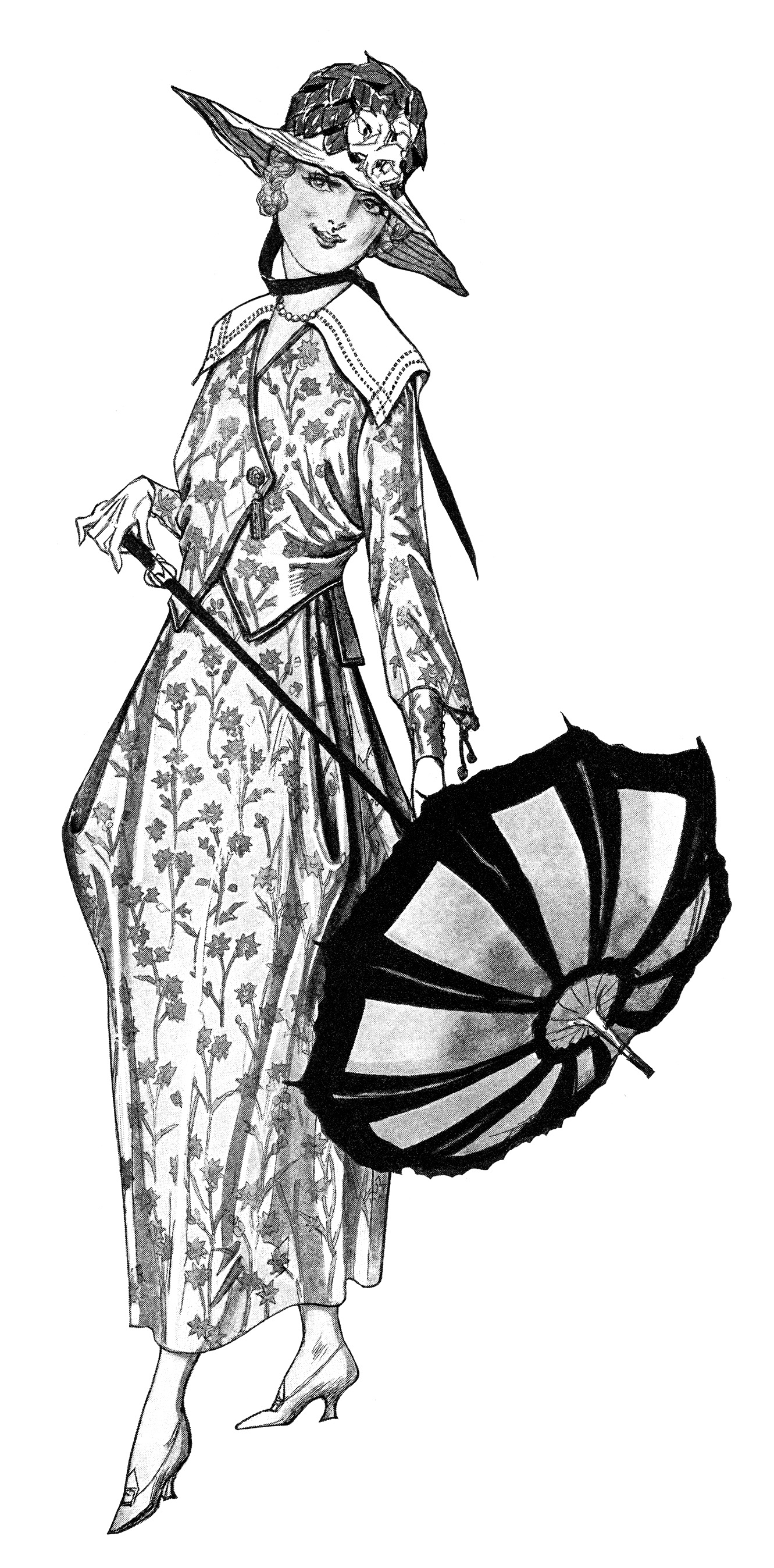 Gown clipart old fashioned Art Vintage image clip Vintage
