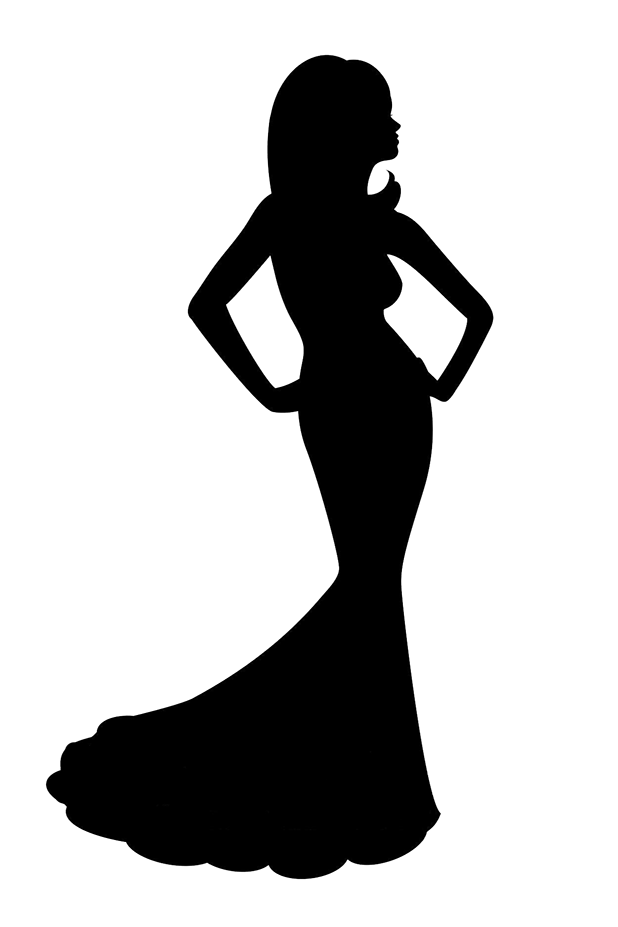 Gown clipart pageant Home