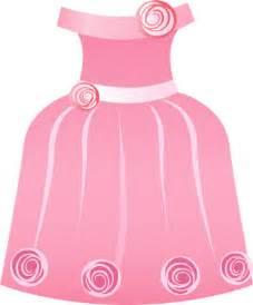 Pink Dress clipart art #2