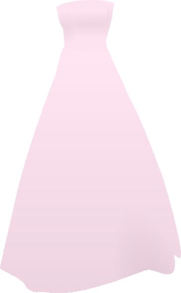 Gown clipart pink dress Free com online as: Art