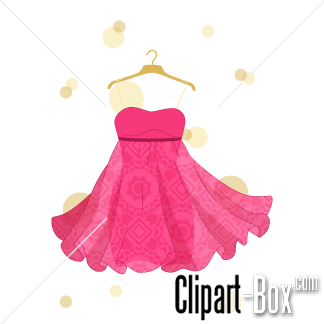 Gown clipart pink dress Download #2 Pink clipart drawings