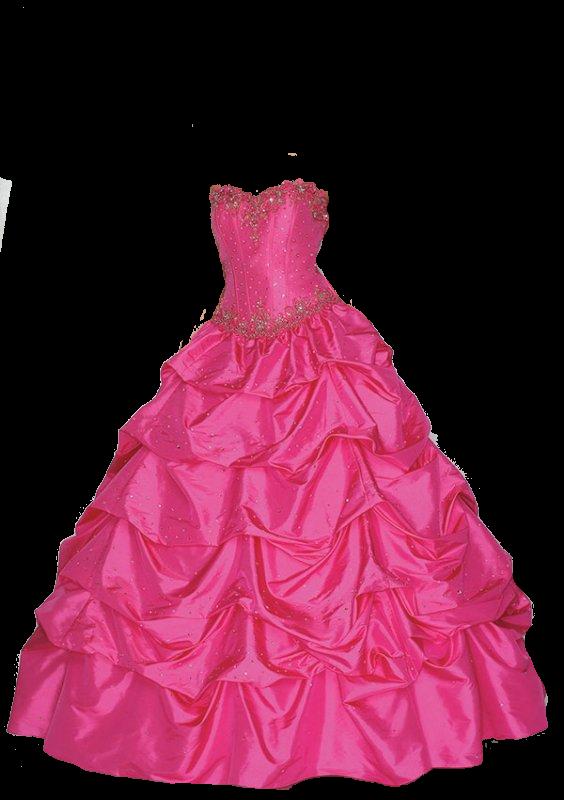 Gown clipart pink dress Blue StickPNG PNG transparent Pink