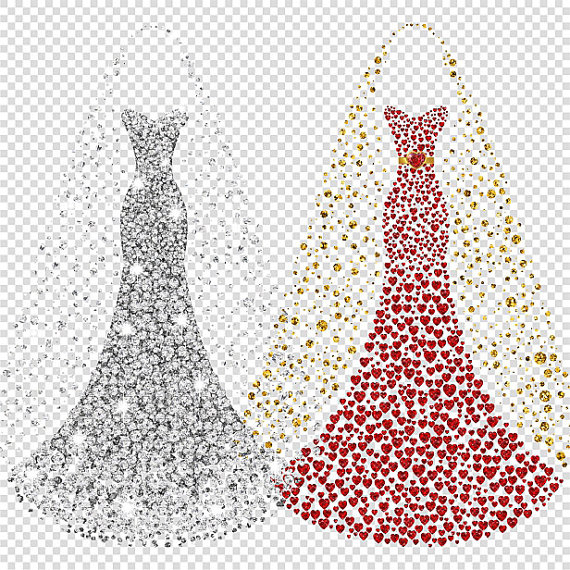 Red Dress clipart prom dress File Bridal This Gown dress
