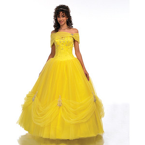 Gown clipart quinceanera dress 2012 Q289 Polyvore 2012 Belle's