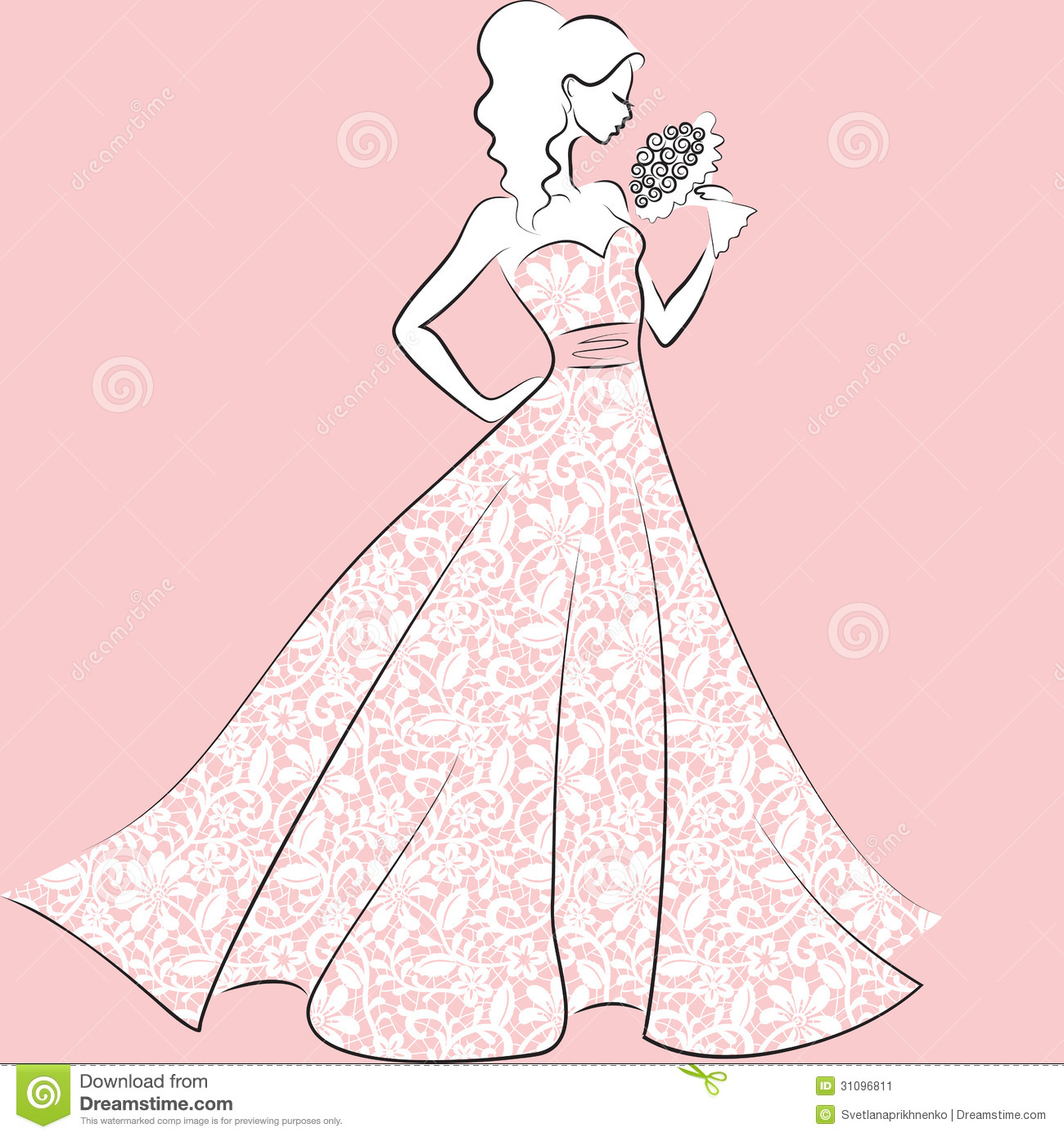 Wedding Dress clipart debutante Carttoon dresses_dressesss Quince Dress_Other Quince