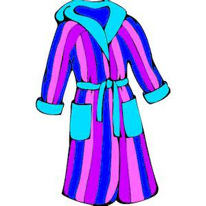 Gown clipart robe Bathrobe Art on Free