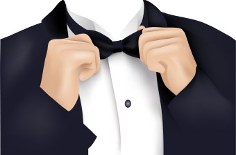 Suit clipart formal wear Dress a Formal a with