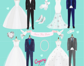 Groom clipart groom tux Dress Illustration Tuxedo Shower Bridal