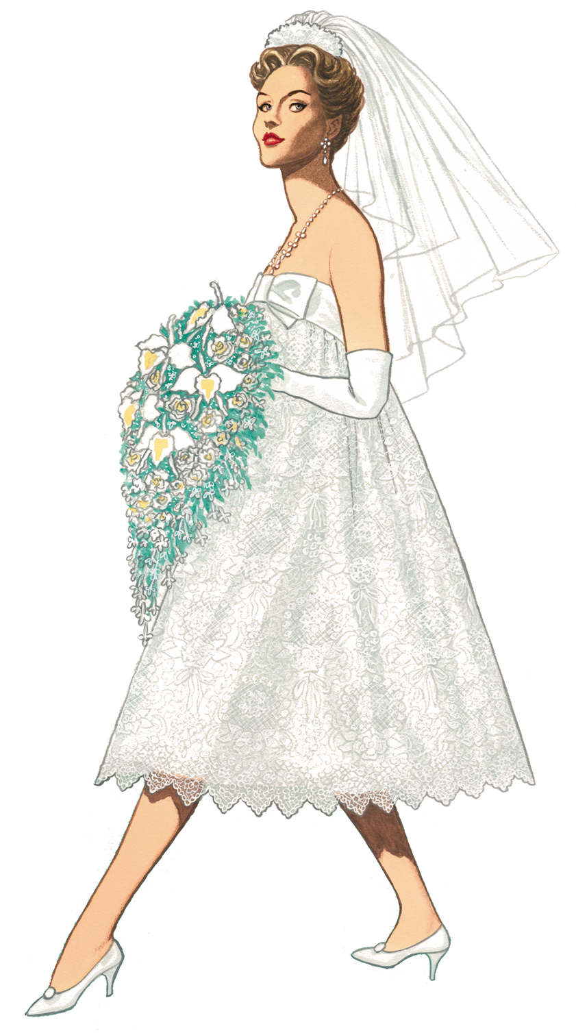 Gown clipart vintage wedding dress Free the Cottage wedding vintage