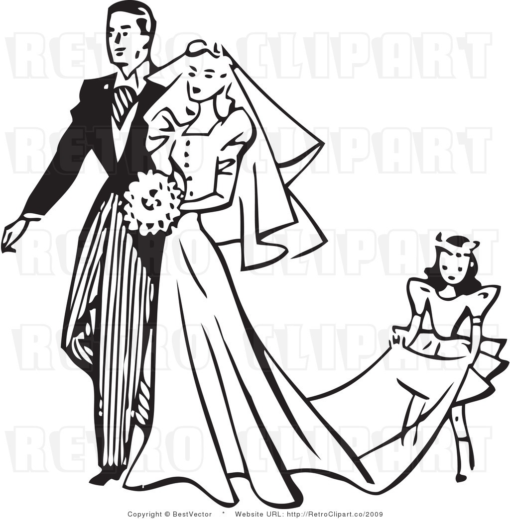 Gown clipart vintage wedding dress – Dress Wedding images Clipart