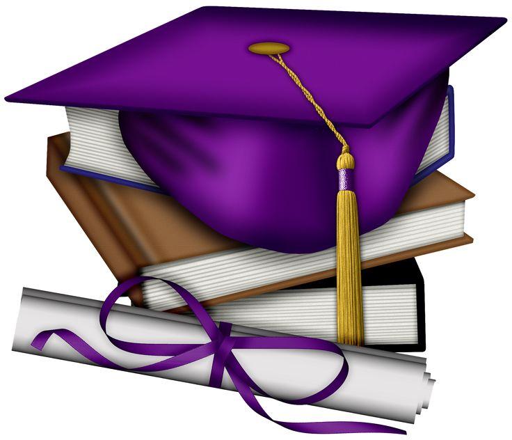 Gown clipart violet ESCOLA more ideas on Graduation