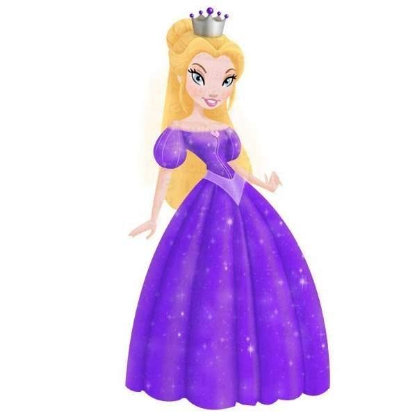 Doll clipart purple #5