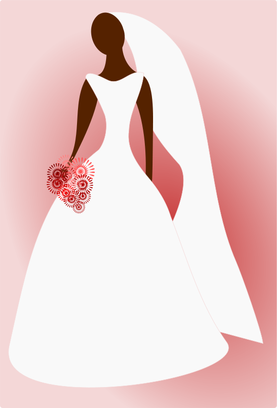 Bride clipart transparent #2