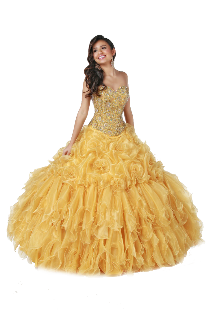 Gown clipart yellow dress Msoranzhevaya png by in yellow
