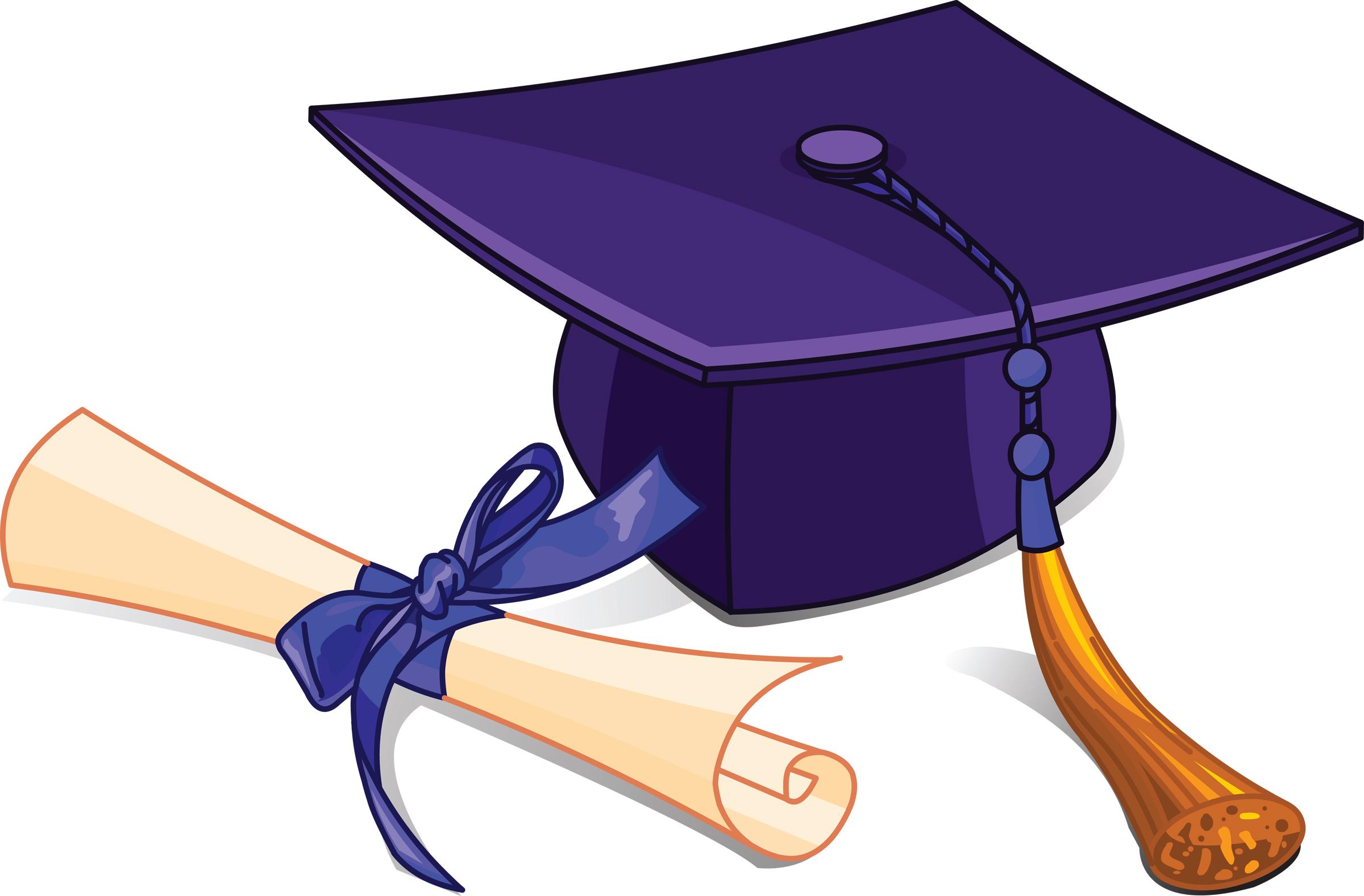 Graduation clipart  hat education clipart cap