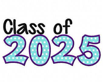 Graduation clipart 4th grade Download Instant Class 2025 school