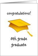 Graduation clipart 8th grade graduation 00 Grade cards images 42
