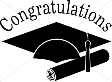 Graduation clipart #12