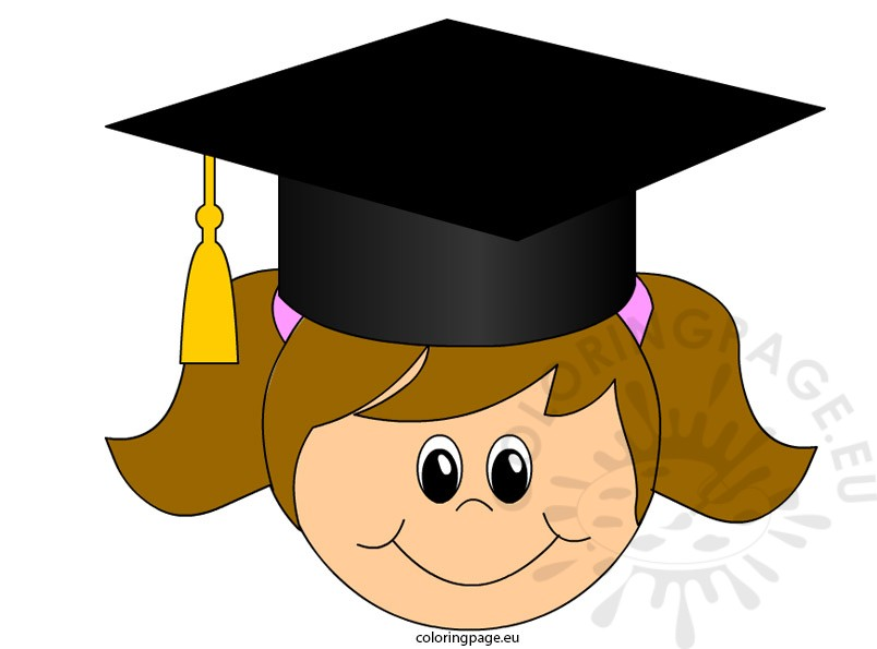 Graduation clipart academia Share: art Page Coloring Graduation