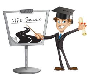 Graduation clipart academic success Success is academic whiteboard explaining