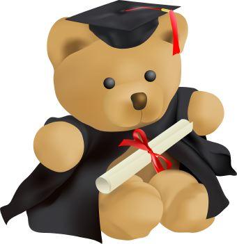 Teddy clipart graduation Graduation Clip Cliparts Download art