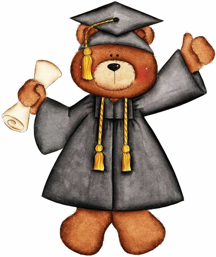 Teddy clipart graduation Graduation Google teddy graduation Buscar