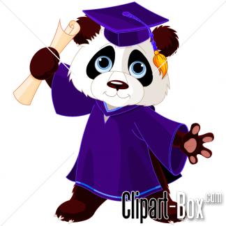 Teddy clipart graduation GRADUATED clip Panda PANDA CLIPART