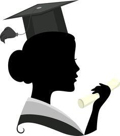 Graduation clipart black woman View  GRADUATION~ Silhouette &