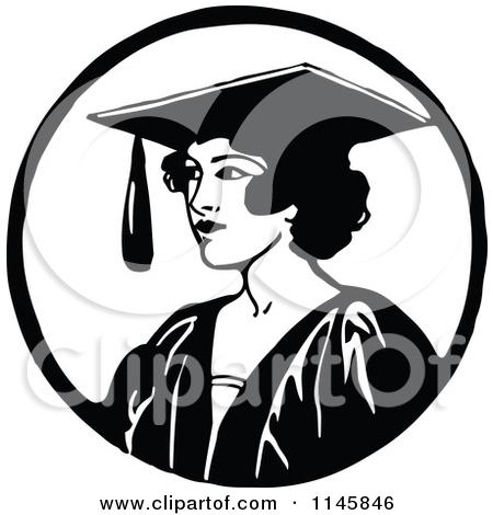 Graduation clipart black woman Download art – graduation white