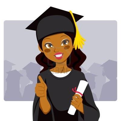 Graduation clipart black woman Graduation 9572858 woman 9572858 celebrating