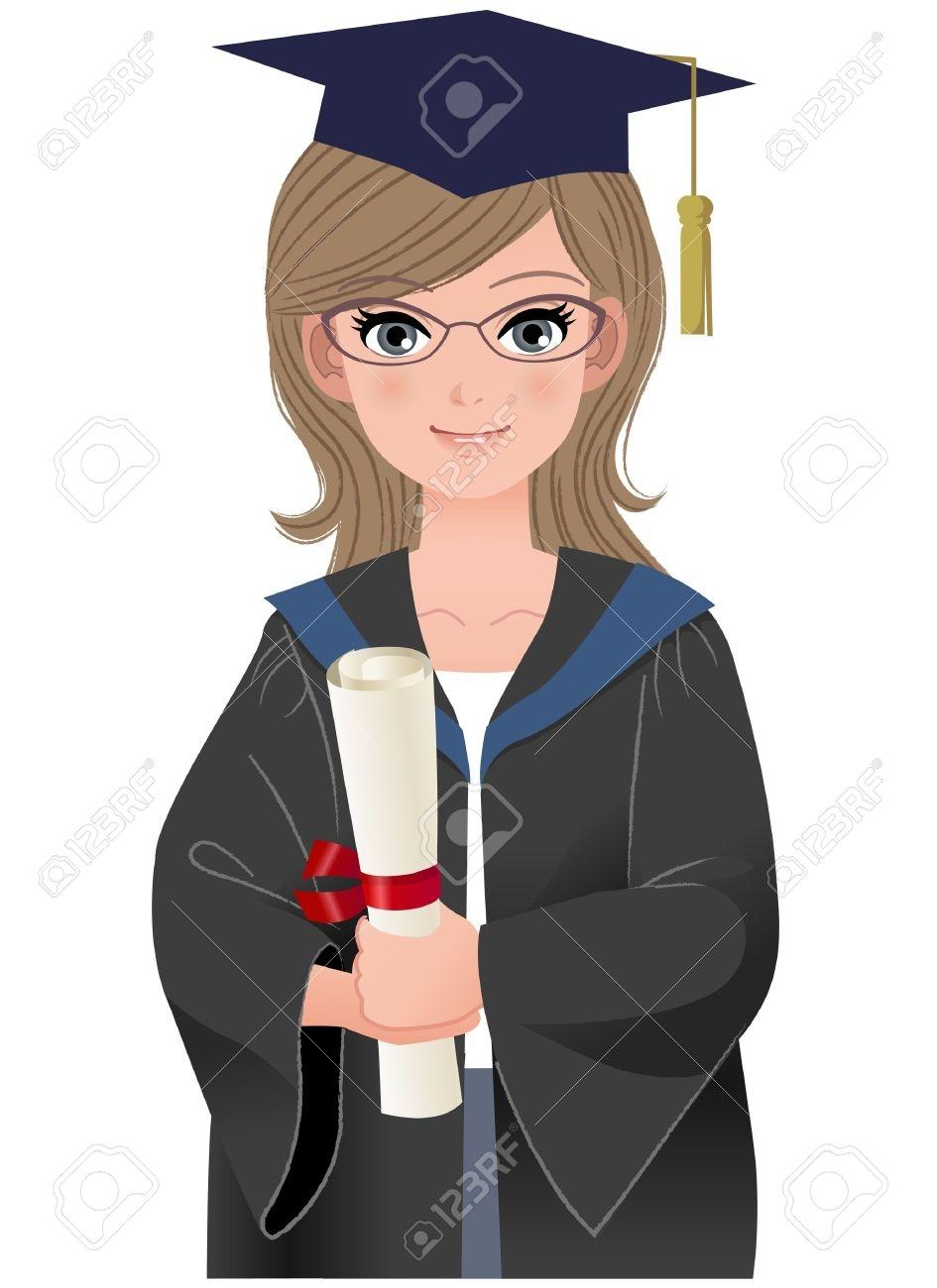 Graduation clipart college graduate Clip graduate Free Collection Graduation