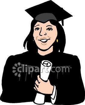 Graduation clipart college student Student Clip College College Art