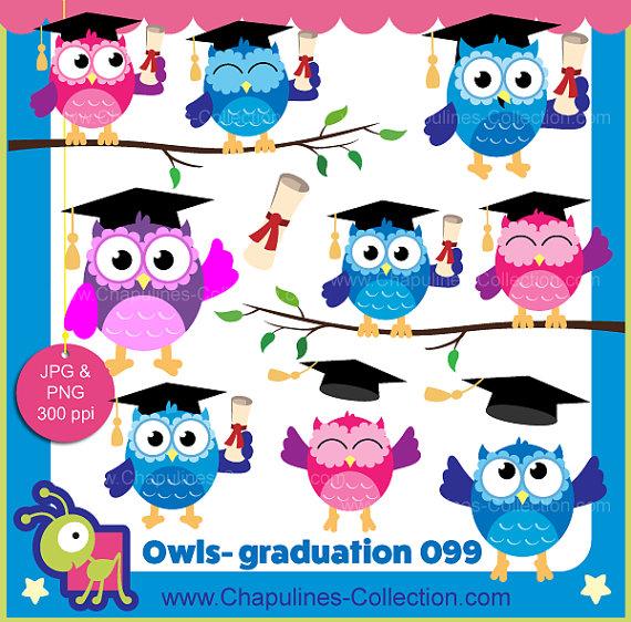 Graduation clipart colorful Owls 60% graduation clipart colorful
