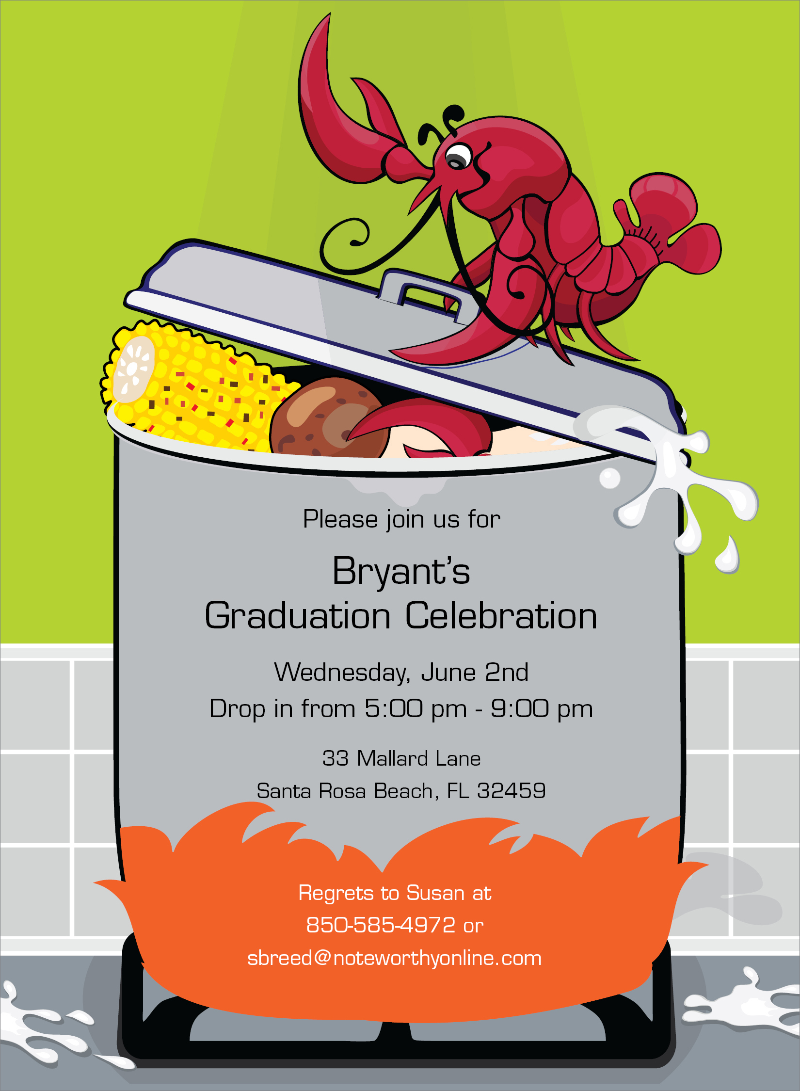 Graduation clipart crawfish Crawfish pot The collection clipart