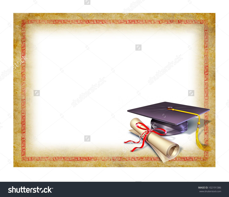 Graduation clipart diploma frame #15
