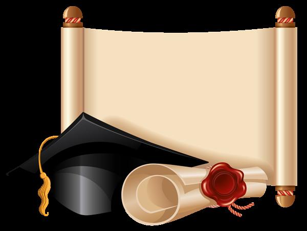 Graduation clipart diploma frame #8