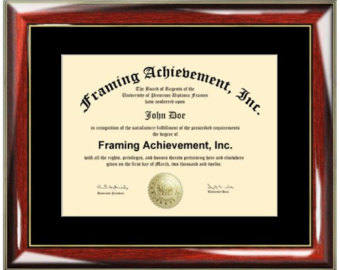 Graduation clipart diploma frame #5