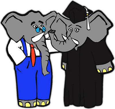 Graduation clipart elephant Elephant Clipart Elephant Free elephant