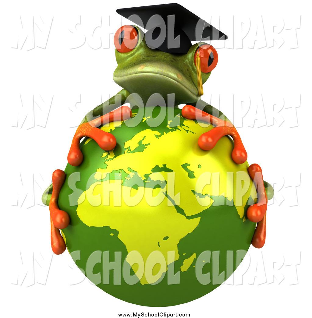 Graduation clipart frog Art #2191 a 3d Earth