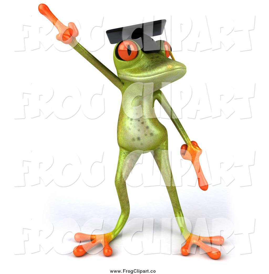 Graduation clipart frog Graduate Dancing 3d Frog Dancing
