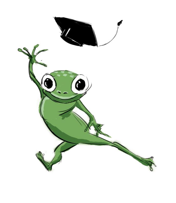 Graduation clipart frog Graduation Archives frog Yusuke illustration