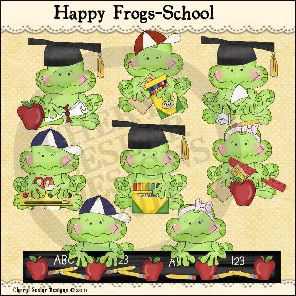 Graduation clipart frog Frogs Studio Clip images Happy