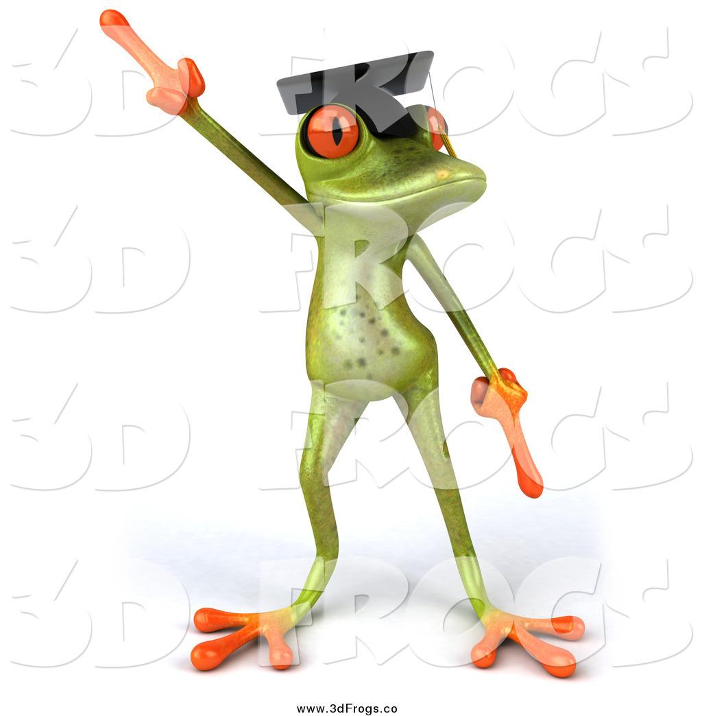 Graduation clipart frog Of Dancing Dancing Julos Illustration