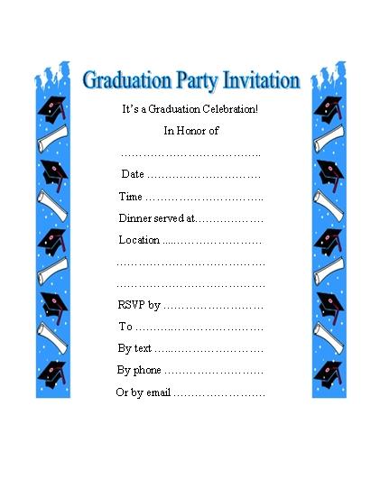 Graduation clipart graduation invitation Invitations grad Invitations Grad