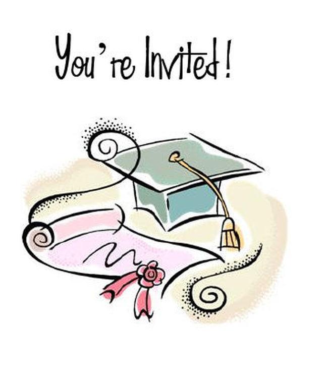 Graduation clipart graduation invitation Printable Printable Cards the