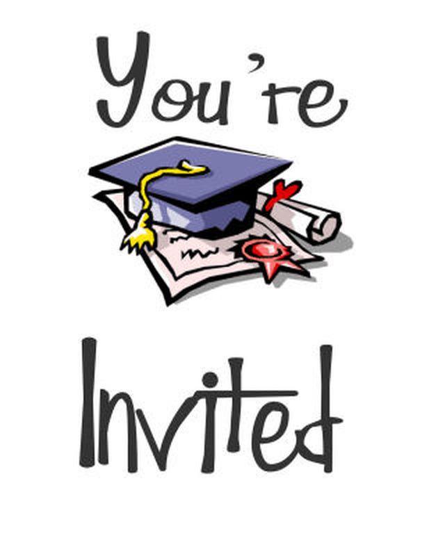 Graduation clipart graduation invitation Ideas Printable on 25+ Free